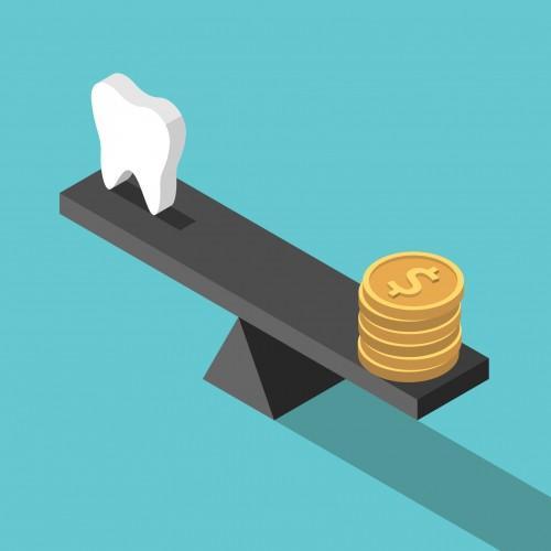 cena ząb